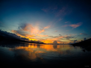 Sunset at Deva Samui Resort & Spa