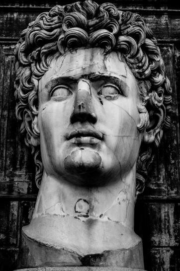 Giant Head of Augustus
