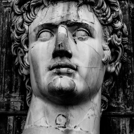 Giant Head of Augustus