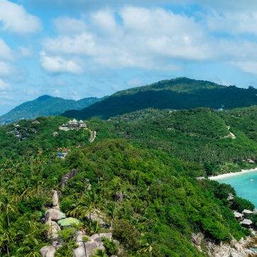 Panorama from John Suwan Viewpoint, Ko Tao